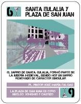 Santa Eulalia y Plaza de San Juan