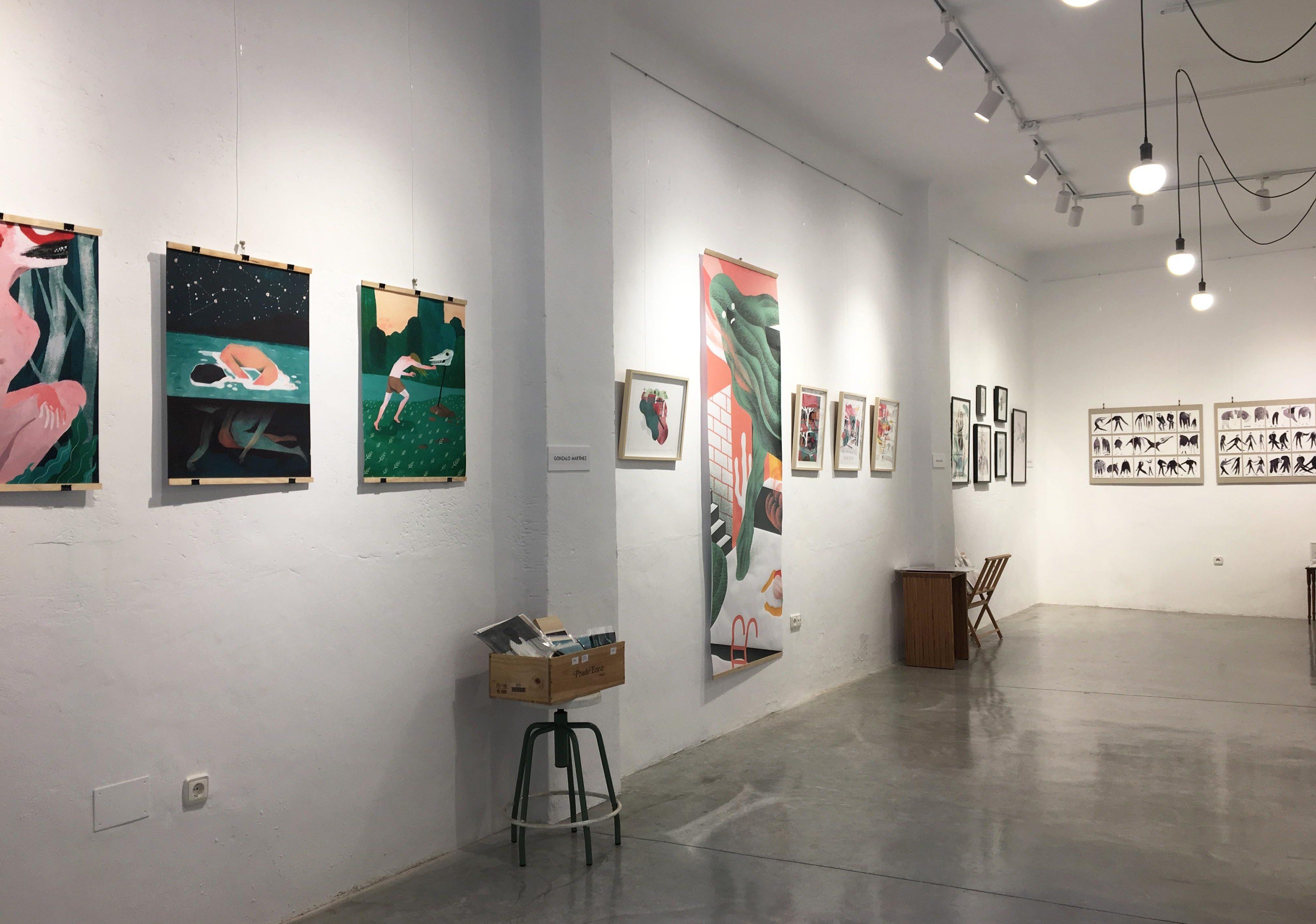 Exposición Colectiva Ilustración. Arquitectura de Barrio. Murcia
