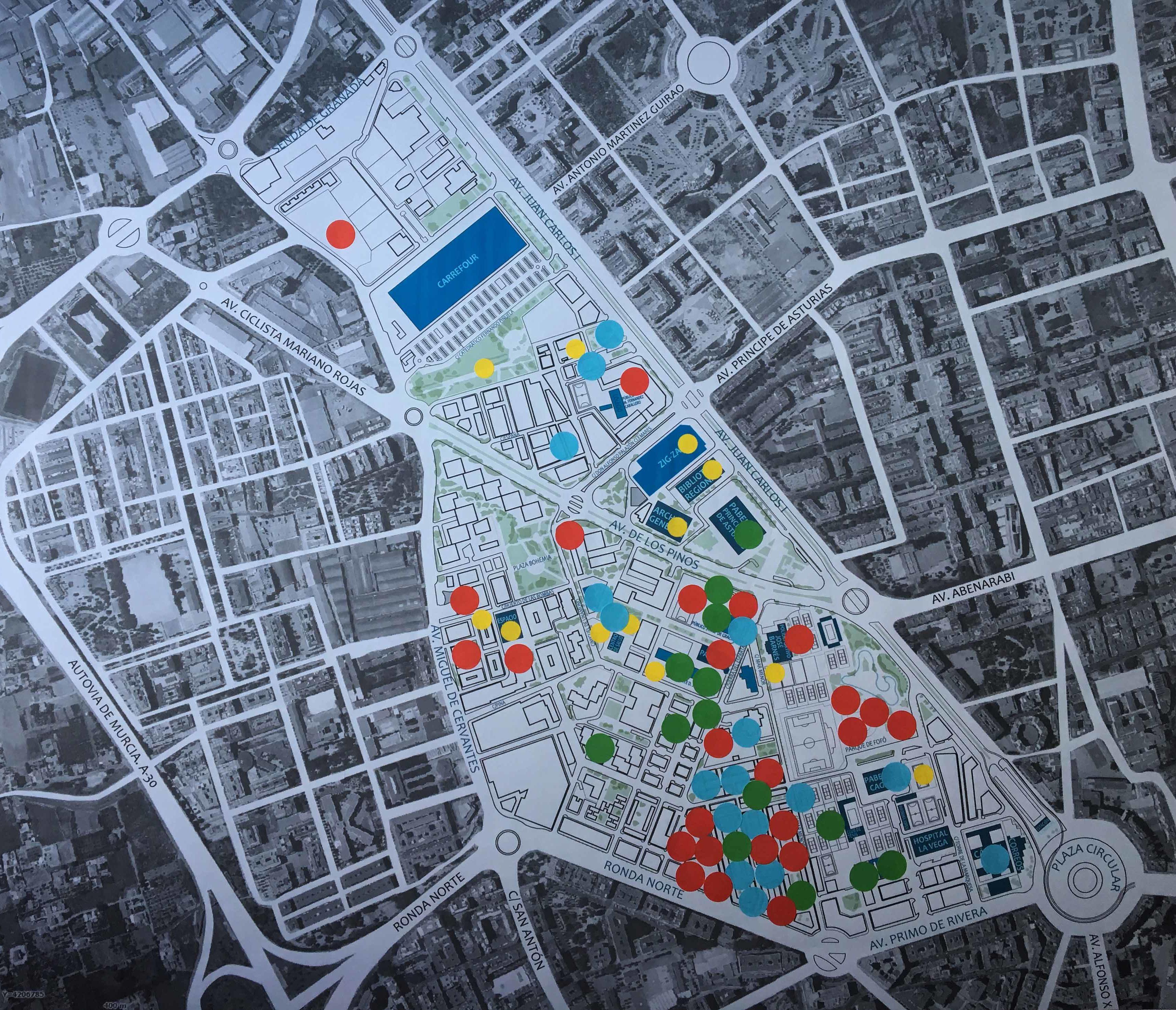 Taller barrio Sta Mª de Gracia. Murcia