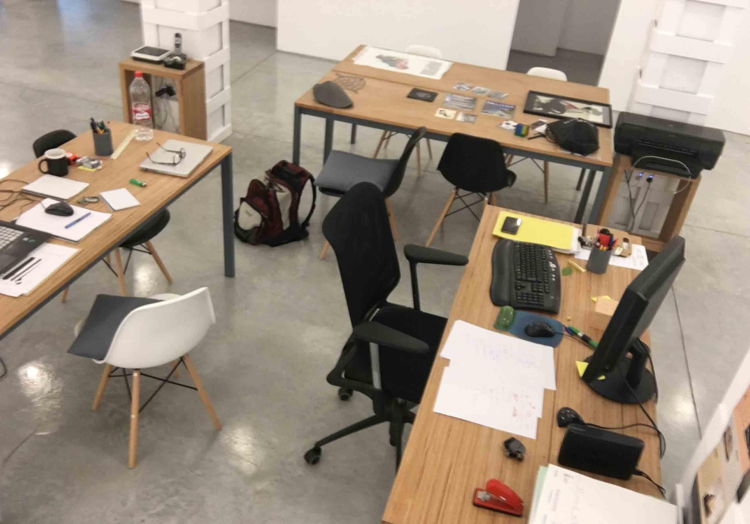 Arquitectura de Barrio. Estudio de Arquitectura y Galería de Arte. Murcia