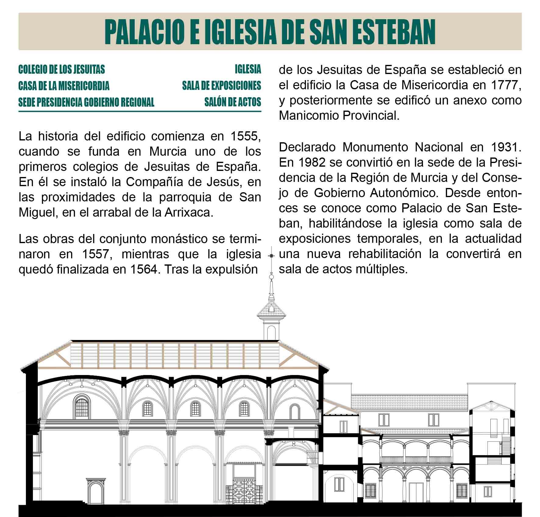 Palacio e Iglesia de San Esteban Murcia