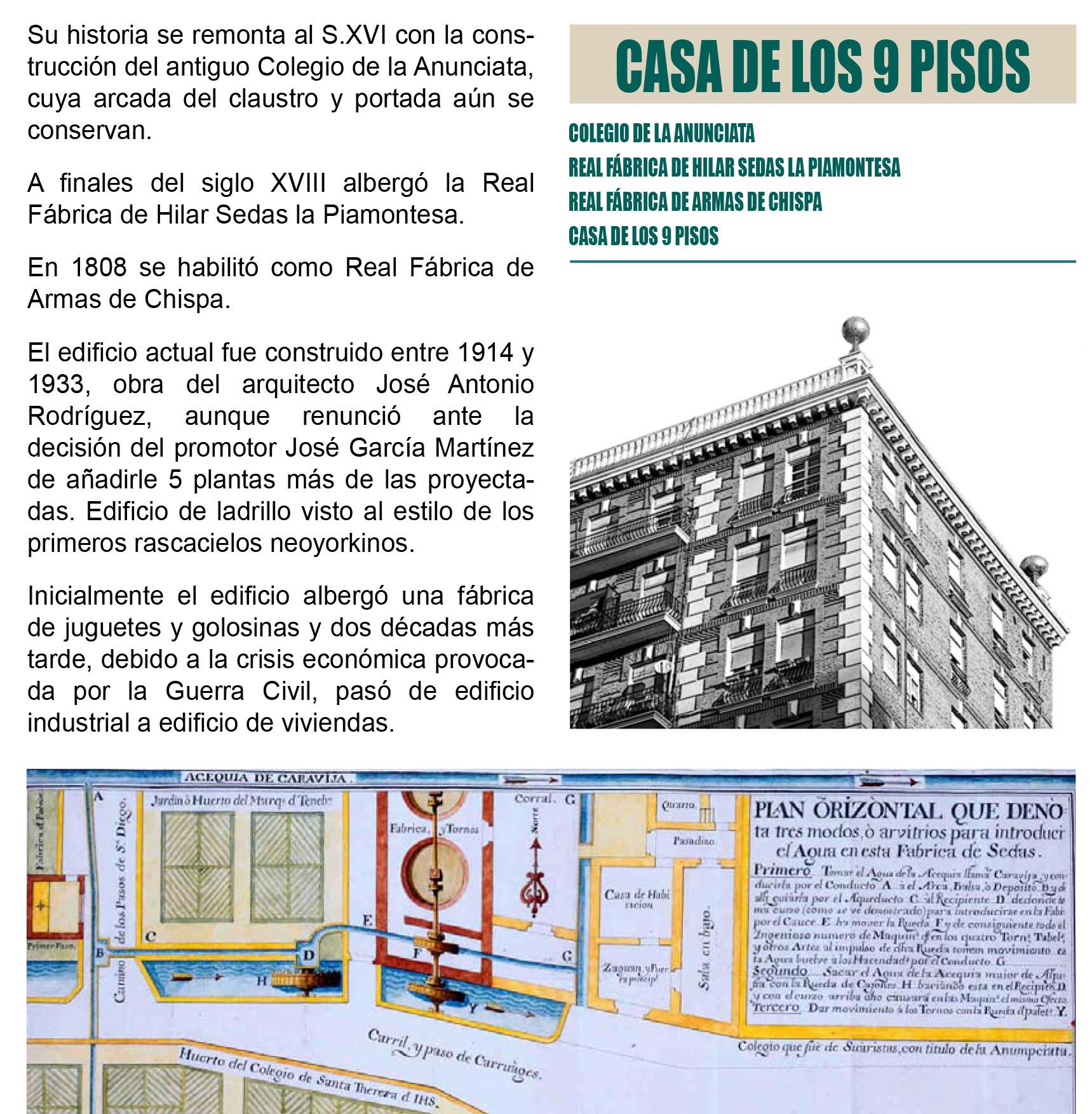 Casa de los 9 Pisos Murcia